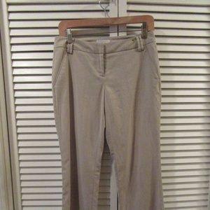 New York & Co Stretch Tan 4 Petite Pants